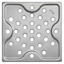 Ralo Simples Quadrado Aço Inox Acetinado 15x15cm Tramontina 94535003