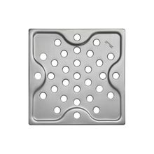 Ralo Simples Quadrado Aço Inox Acetinado 10x10cm Tramontina 94535002