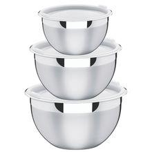 Jogo de Potes 3 Peças Cucina Aço Inox Tramontina 64220710