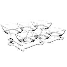 Jogo para Sobremesa Cristal 12 peças Lapidar Tramontina 64550700