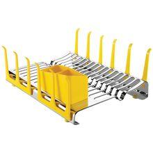 Escorredor de Louças Inox Plurale Amarelo Tramontina 61535580