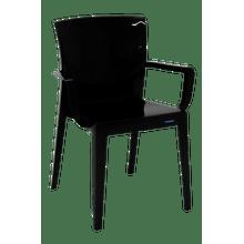 Cadeira Victória com braços preta Tramontina 92044009