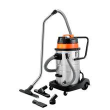 Aspirador de pó Tramontina 50 Litros em Aço Inox para sólidos e líquidos 1400 W