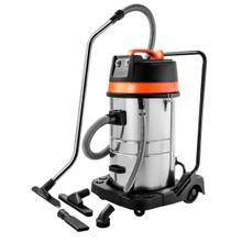 Aspirador de pó Tramontina 80 Litros em Aço Inox para sólidos e líquidos 2400 W