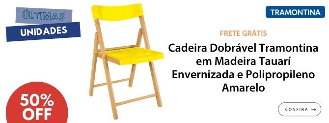 cadeira tauari amarela